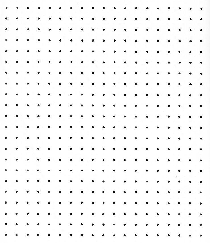 Dot Grid Paper They act like grid paper